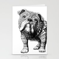 English Bulldog Stationery Cards