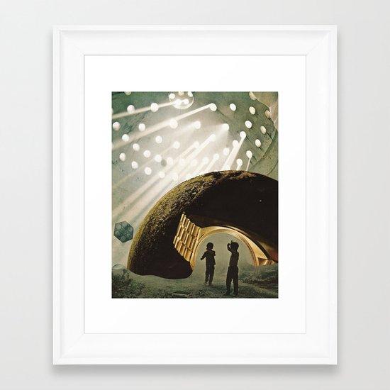 LAb Framed Art Print