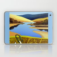 Water Meets Sand: Te Paki Stream Laptop & iPad Skin