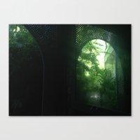 post tropical Canvas Print