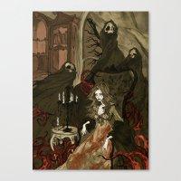 Nightmares Of The Alchem… Canvas Print