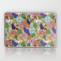 Vegetable Flowers Laptop & iPad Skin
