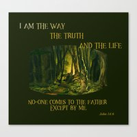 I Am The Way Canvas Print
