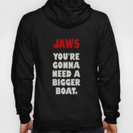 JAWS Quote Poster 01 Hoody