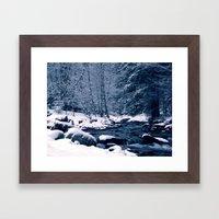 Perfect winter Framed Art Print