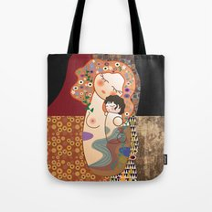 Kokeshi Mother&child  Tote Bag