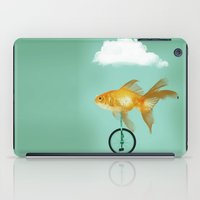 unicyle goldfish III iPad Case