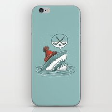 Hockey Shark iPhone & iPod Skin