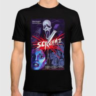 T-shirt featuring Scream 2 Movie Poster by IBTrav