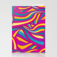 Stationery Cards featuring Too Bright by Danny Ivan