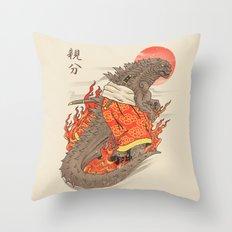 OYABUN Throw Pillow