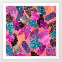 Gem Pop Art Print
