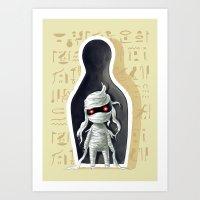 Mummy 2 Art Print