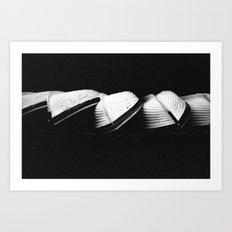 Row Boats 2 Art Print