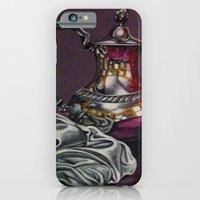 iPhone & iPod Case featuring Still and red Glass by Annette Jimerson
