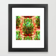Framed Art Print featuring Aesculapius by DIVIDUS