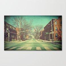 Let's Go Downtown Canvas Print