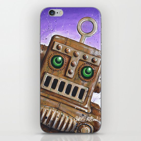 i.Friend: Steam Punk Robot iPhone & iPod Skin