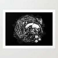 Hell Hope Horrible Art Print
