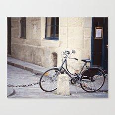 Parked In Paris Canvas Print