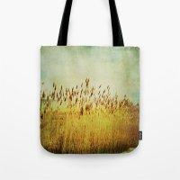 Winter Gold Tote Bag