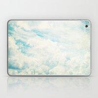 Somewhere | Beautiful Fluffy Clouds  Laptop & iPad Skin