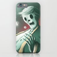 iPhone & iPod Case featuring The haunted thoughts by Jacques Marcotte