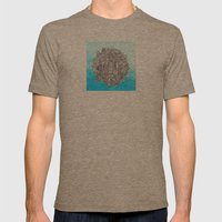 Small World Mens Fitted Tee Tri-Coffee SMALL