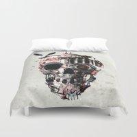 Istanbul Skull Duvet Cover