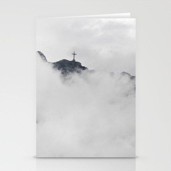 Foggy Faith Stationery Card