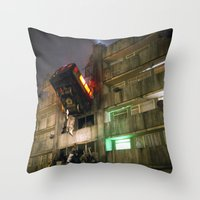 Dystopia/Utopia Throw Pillow