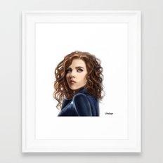 Black Widow....Avengers....Marvel.... Framed Art Print