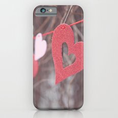 Hearts on a String iPhone 6s Slim Case