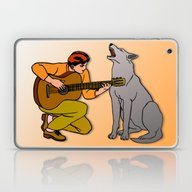 Sound Duo Laptop & iPad Skin