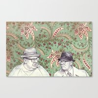 Old Men Canvas Print