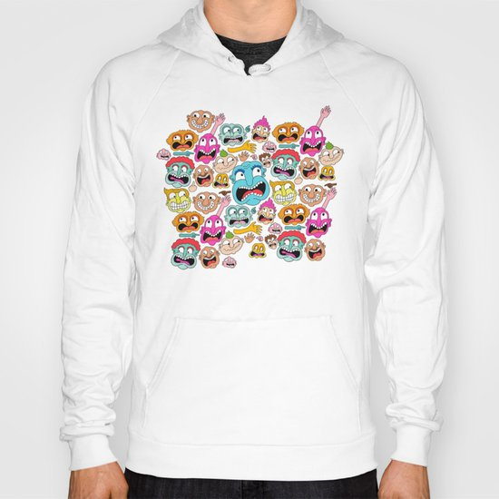 Weird Faces Hoody