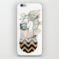Floral Ego iPhone & iPod Skin