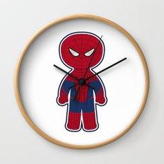 Chibi Spider-man Wall Clock