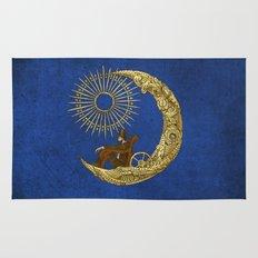 Moon Travel (Colour Option) Rug