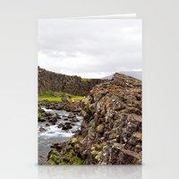 Þingvellir  Stationery Cards
