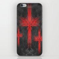 3 Crosses iPhone & iPod Skin