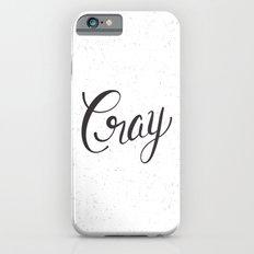 Cray iPhone 6s Slim Case