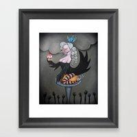 Let Them Eat Cake! Framed Art Print