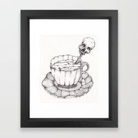 AS TEA Framed Art Print