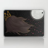The Queen and the Moon Laptop & iPad Skin