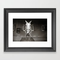 Horsin' Around Framed Art Print
