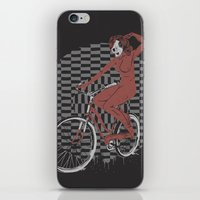The Devil Will Ride iPhone & iPod Skin
