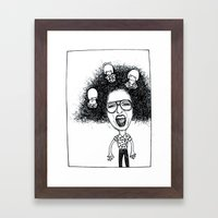 Nutty Rhi Framed Art Print