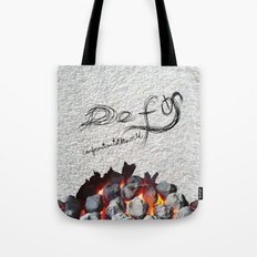 Defy conformationtotheworld Tote Bag