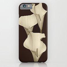Cream Calla Lilly. iPhone 6s Slim Case